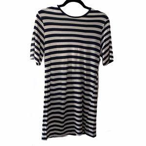 Reformation Nautical Tencel T Shirt Dress S